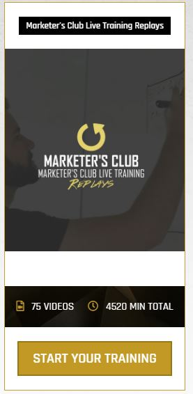 Legendary Marketer's Club